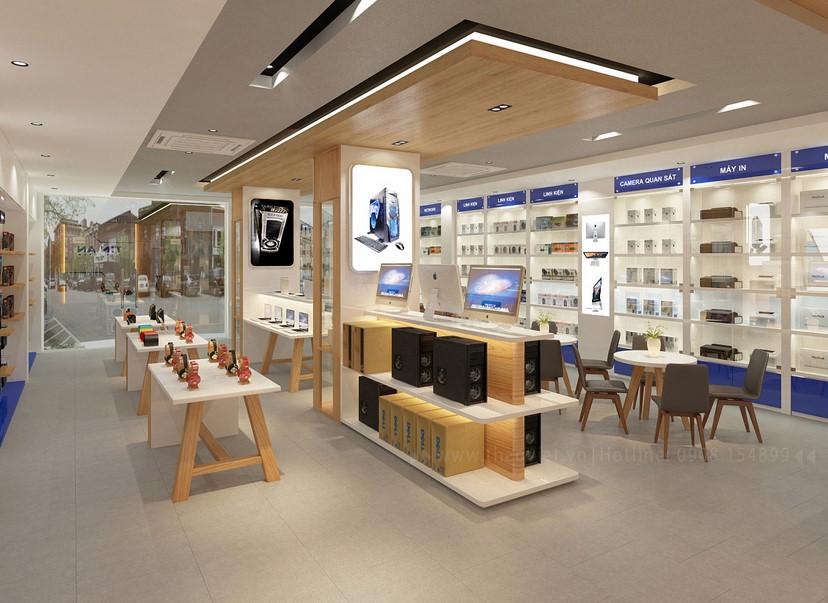Thiết kế nội thất shop Tín An 7