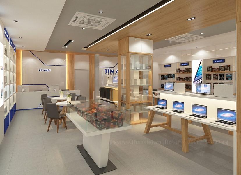 Thiết kế nội thất shop Tín An 8