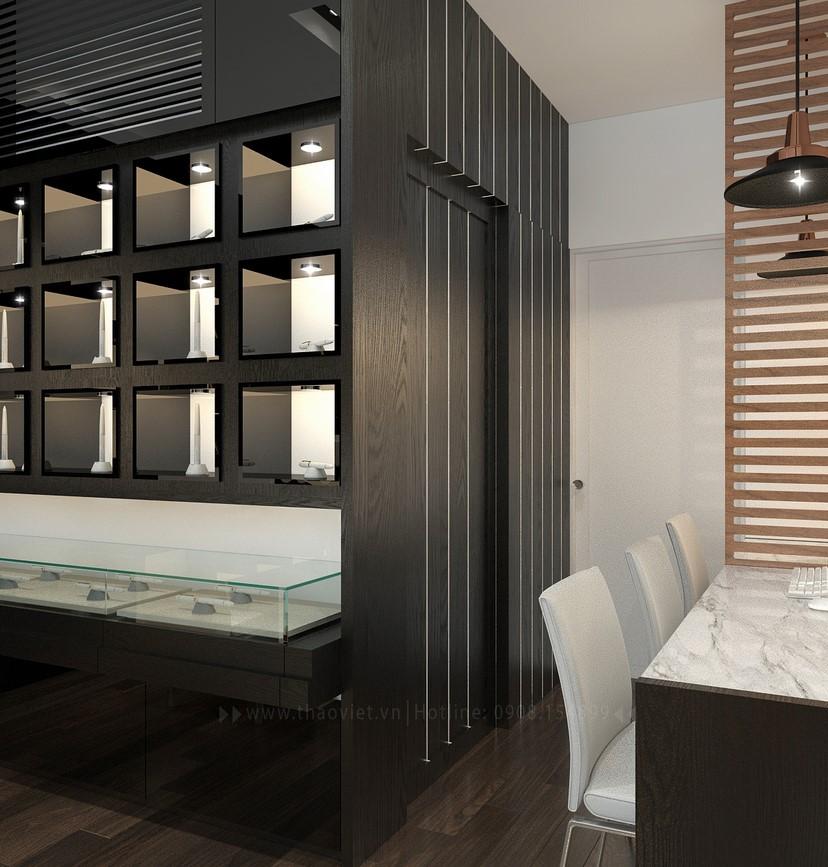 Thiết kế nội thất shop điện thoại Vỏ Gỗ 6