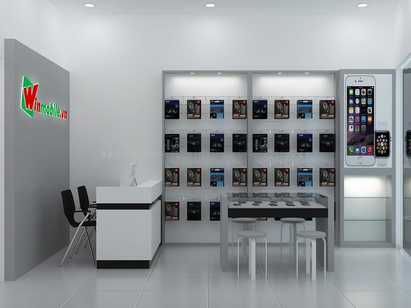 Thiết kế shop điện thoại Winmobile 4