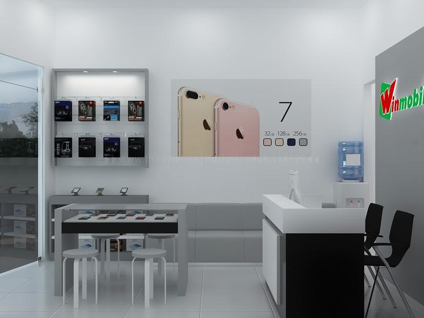 Thiết kế shop điện thoại Winmobile 3