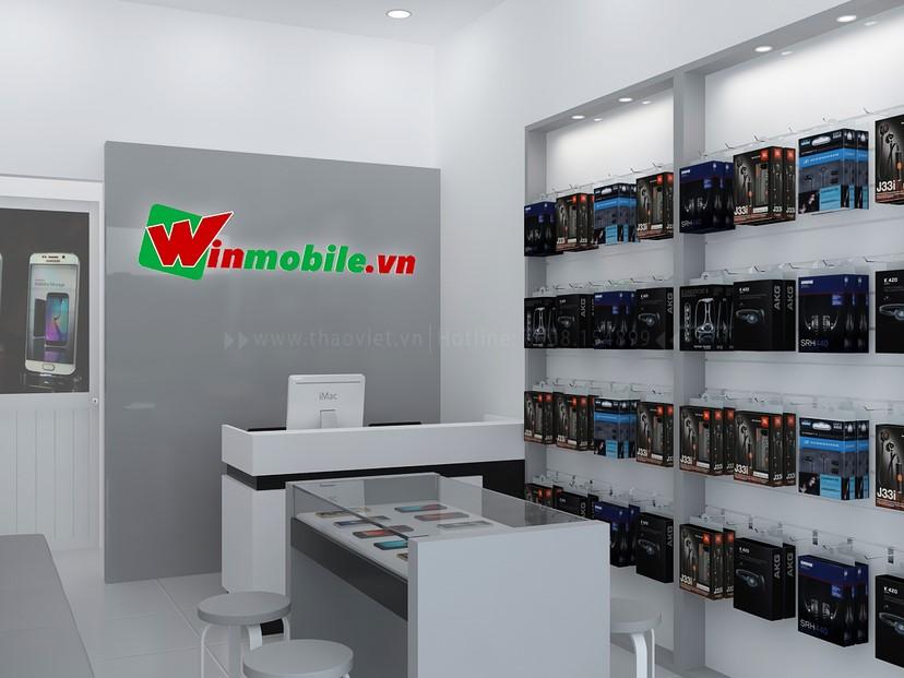 Thiết kế shop điện thoại Winmobile 2