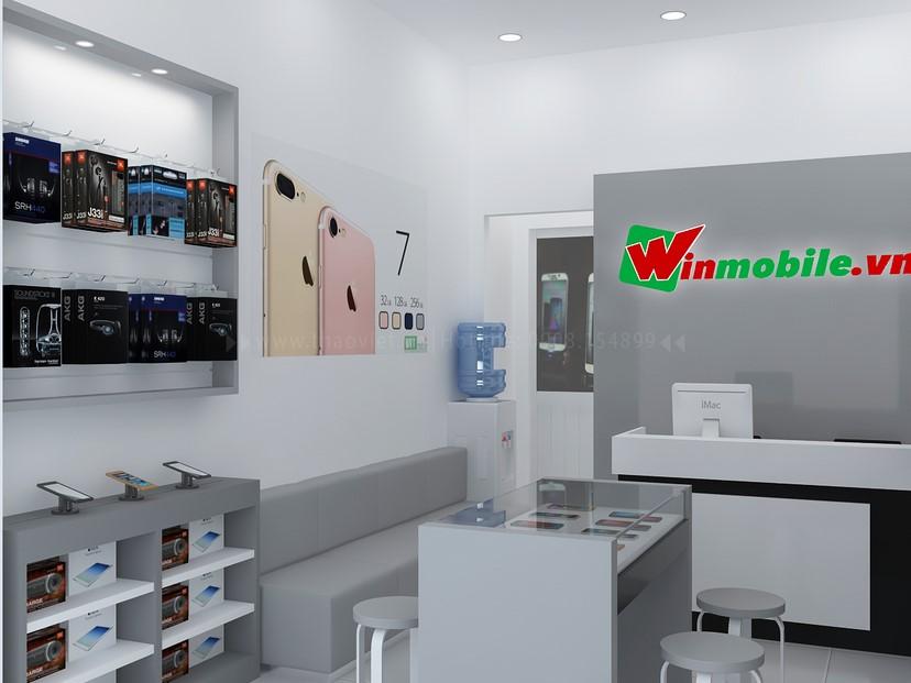 Thiết kế shop điện thoại Winmobile 1
