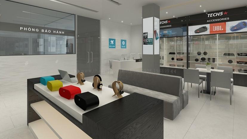 Thiết kế nội thất shop điện thoại 9