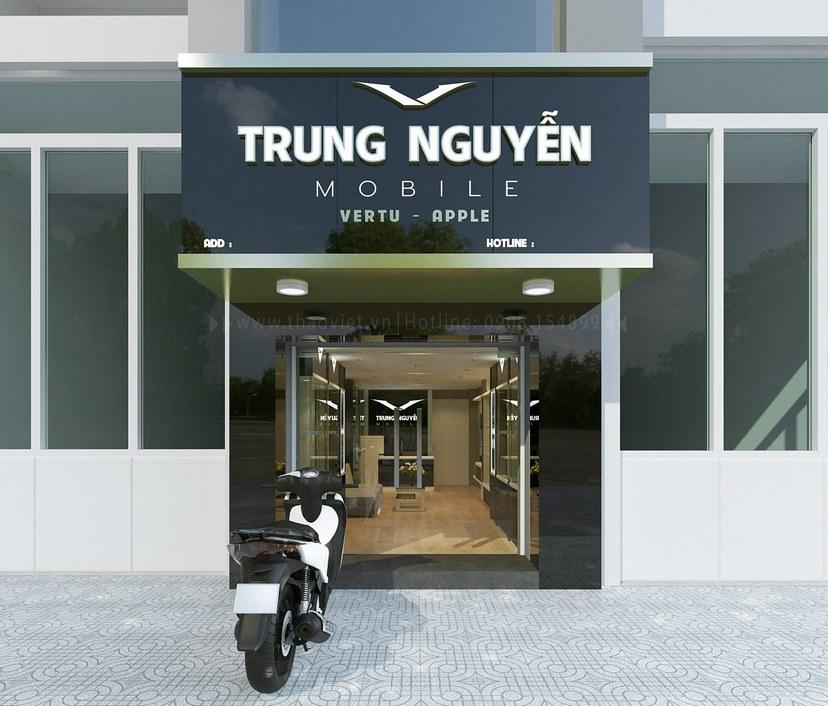 Mặt tiền shop Vertu Trung Nguyễn