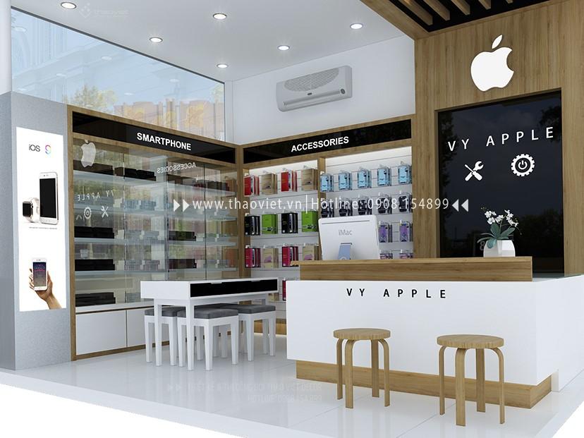 thiết kế shop điện thoại Vy Apple - Tiền Giang 2