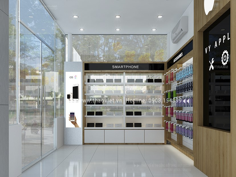 thiết kế shop điện thoại Vy Apple - Tiền Giang 5