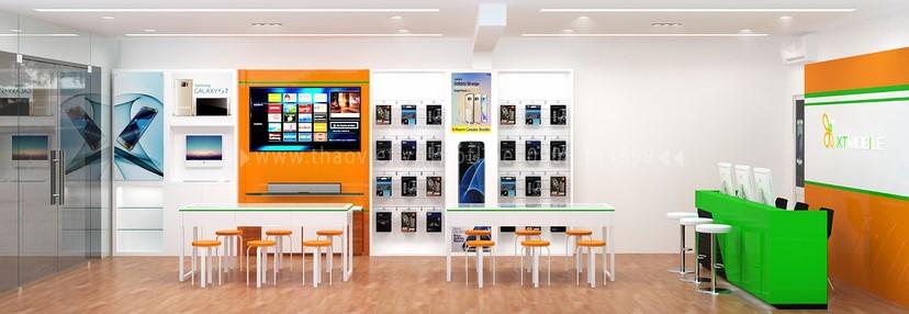 Thiết kế nội thất shop điện thoại 6