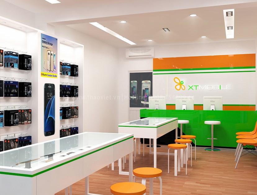 Thiết kế nội thất shop điện thoại 4