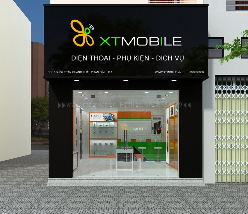 shop điện thoại XT Mobile Trần Quang Khải